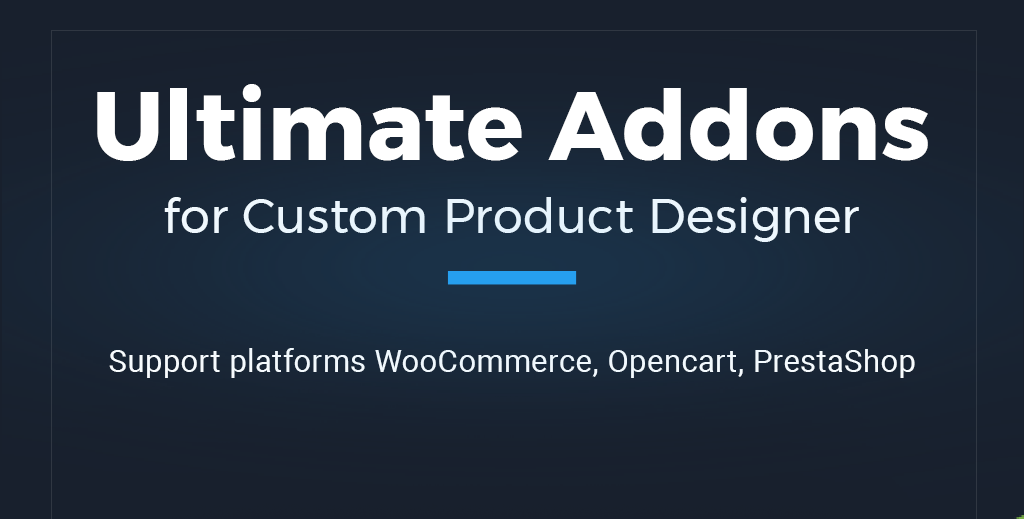 TShirt eCommerce Custom Product Designer for WooCommerce/WordPress | Opencart | Prestashop